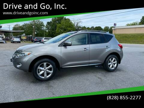 2010 Nissan Murano for sale at Drive and Go, Inc. in Hickory NC