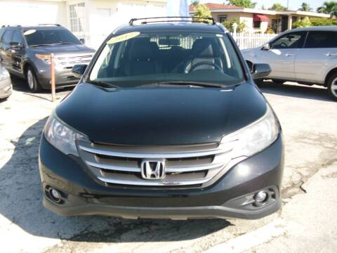 2012 Honda CR-V for sale at SUPERAUTO AUTO SALES INC in Hialeah FL