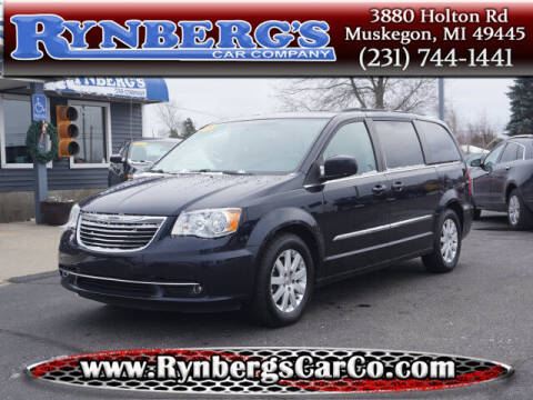 2011 Chrysler Town and Country for sale at Rynbergs Car Co in Muskegon MI