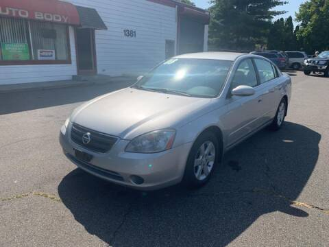 2003 Nissan Altima for sale at American Auto Specialist Inc in Berlin CT