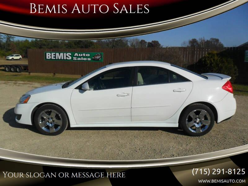 2010 Pontiac G6 for sale at Bemis Auto Sales in Crivitz WI