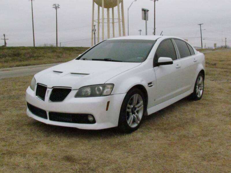 2008 Pontiac G8 for sale at Brannan Auto Sales in Gainesville TX