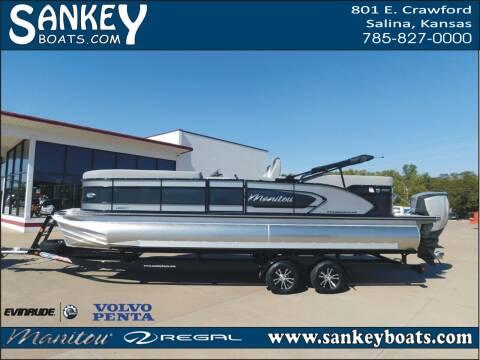 2020 Manitou Legacy 25 RF SHP for sale at SankeyBoats.com in Salina KS