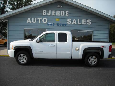 2008 Chevrolet Silverado 1500 for sale at GJERDE AUTO SALES in Detroit Lakes MN