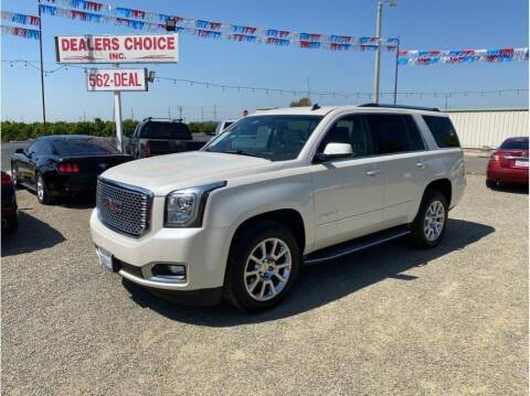 2015 GMC Yukon for sale at Dealers Choice Inc in Farmersville CA