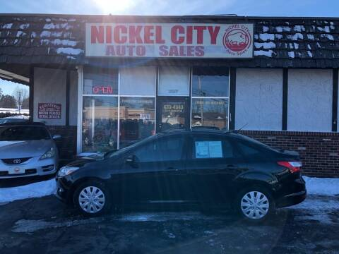 2012 Ford Focus for sale at NICKEL CITY AUTO SALES in Lockport NY