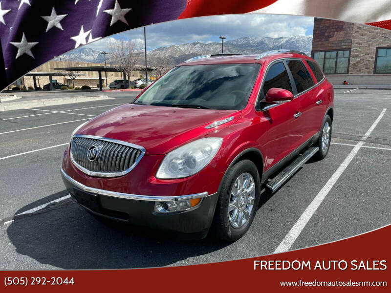2012 Buick Enclave for sale at Freedom Auto Sales in Albuquerque NM