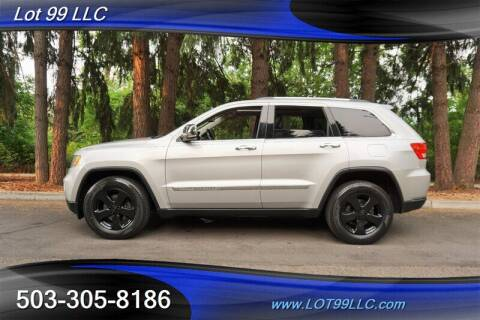 2013 Jeep Grand Cherokee for sale at LOT 99 LLC in Milwaukie OR