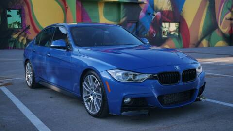 2015 BMW 3 Series for sale at EURO STABLE in Miami FL