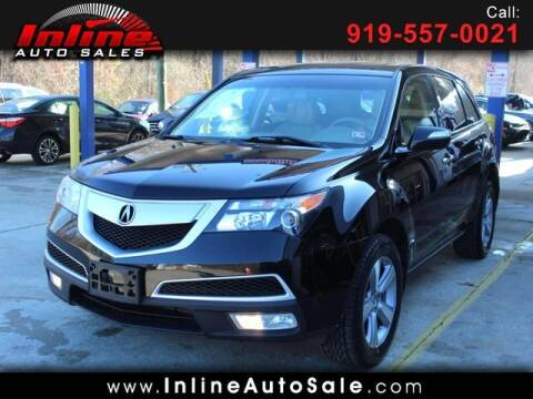 2011 Acura MDX for sale at Inline Auto Sales in Fuquay Varina NC