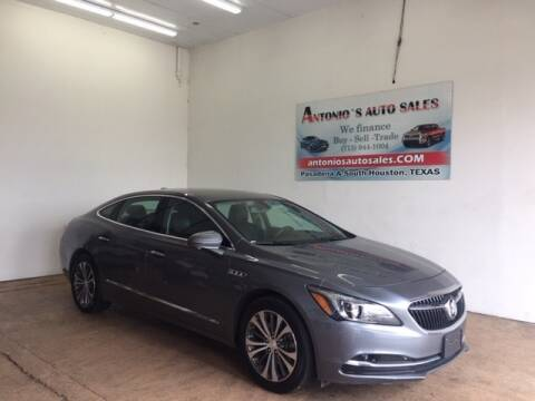 2018 Buick LaCrosse for sale at Antonio's Auto Sales in South Houston TX