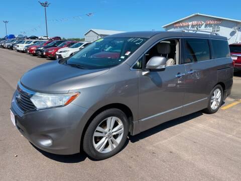 2013 Nissan Quest for sale at De Anda Auto Sales in South Sioux City NE