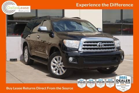 2016 Toyota Sequoia for sale at Dallas Auto Finance in Dallas TX