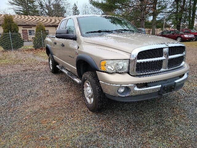 2003 Dodge Ram Pickup 2500 for sale at BETTER BUYS AUTO INC in East Windsor CT