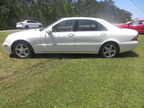 2005 Mercedes-Benz S-Class for sale at Ward's Motorsports in Pensacola FL