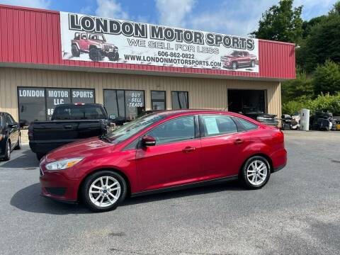 2016 Ford Focus for sale at London Motor Sports, LLC in London KY