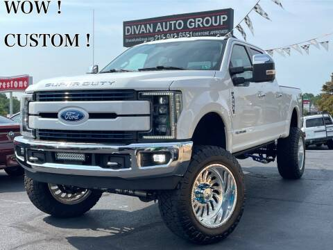 2017 Ford F-250 Super Duty for sale at Divan Auto Group in Feasterville Trevose PA
