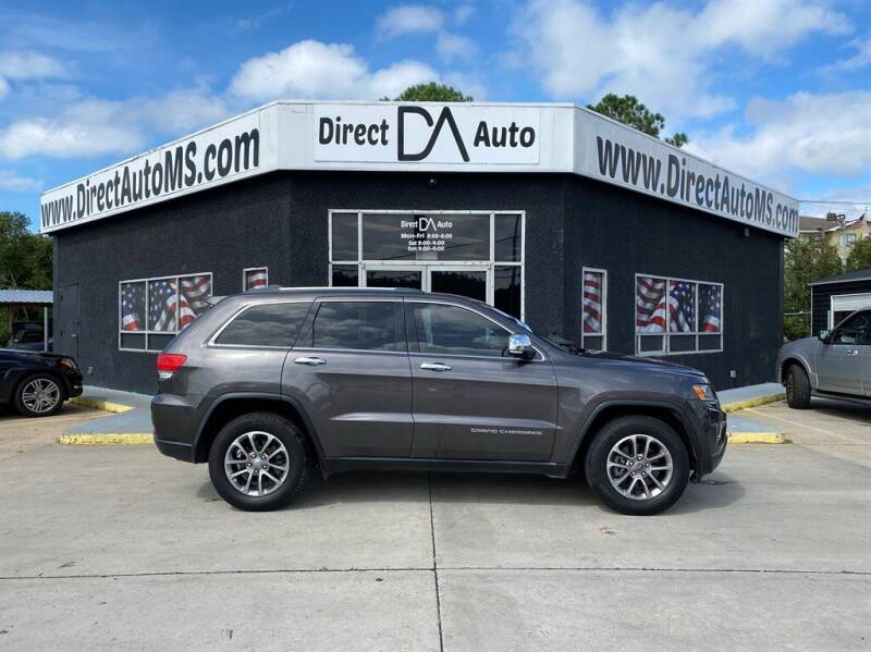 2014 Jeep Grand Cherokee for sale at Direct Auto in D'Iberville MS
