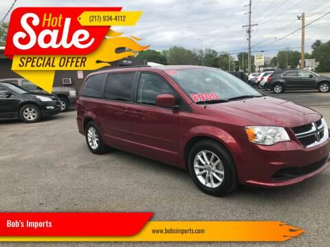 2014 Dodge Grand Caravan for sale at Bob's Imports in Clinton IL
