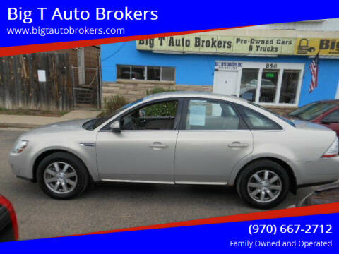 2009 Ford Taurus for sale at Big T Auto Brokers in Loveland CO