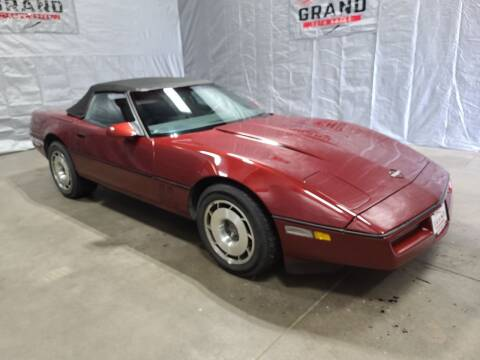 1987 Chevrolet Corvette for sale at GRAND AUTO SALES in Grand Island NE