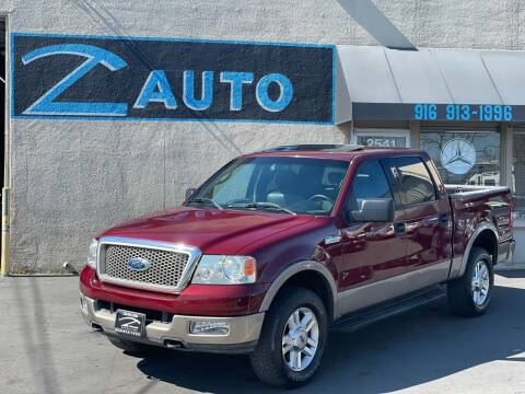 2004 Ford F-150 for sale at Z Auto in Sacramento CA