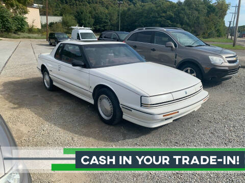 1992 Oldsmobile Toronado for sale at SAVORS AUTO CONNECTION LLC in East Liverpool OH