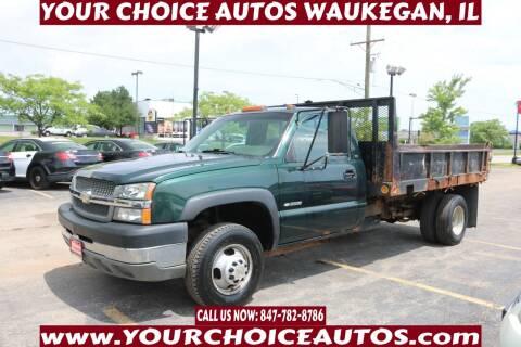 2003 Chevrolet Silverado 3500 for sale at Your Choice Autos - Waukegan in Waukegan IL