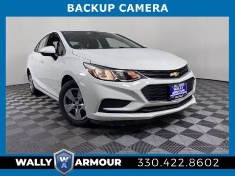 2018 Chevrolet Cruze for sale at Wally Armour Chrysler Dodge Jeep Ram in Alliance OH