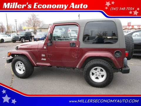 2004 Jeep Wrangler for sale at Miller's Economy Auto in Redmond OR