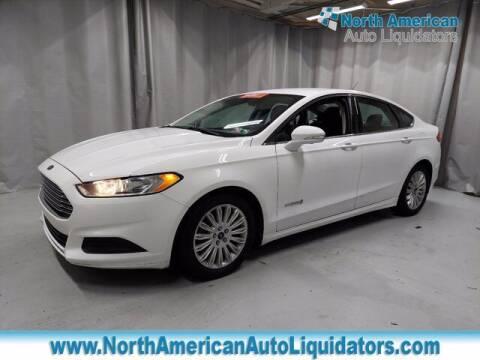 2015 Ford Fusion Hybrid for sale at North American Auto Liquidators in Essington PA