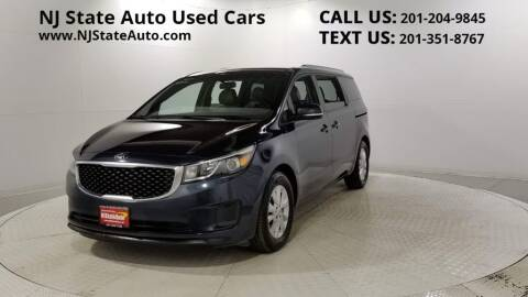 2017 Kia Sedona for sale at NJ State Auto Auction in Jersey City NJ