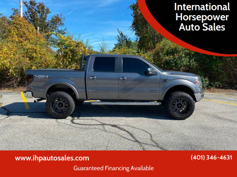 2013 Ford F-150 for sale at International Horsepower Auto Sales in Warwick RI
