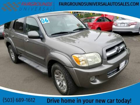 2006 Toyota Sequoia for sale at Universal Auto Sales in Salem OR