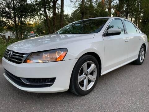 2013 Volkswagen Passat for sale at Next Autogas Auto Sales in Jacksonville FL