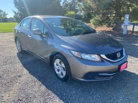 2013 Honda Civic for sale at Clarkston Auto Sales in Clarkston WA