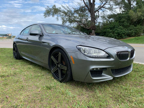 2015 BMW 6 Series for sale at Nation Autos Miami in Hialeah FL