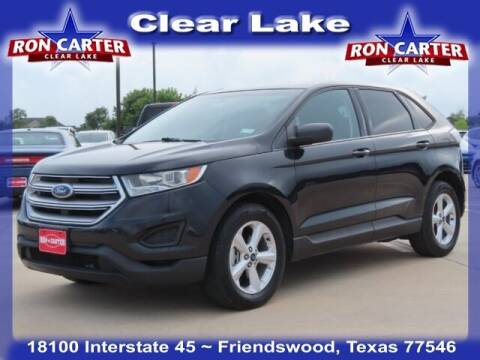2015 Ford Edge for sale at Ron Carter  Clear Lake Used Cars in Houston TX