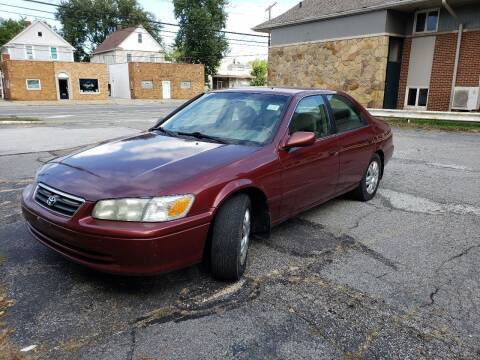 2001 Toyota Camry for sale at USA AUTO WHOLESALE LLC in Cleveland OH