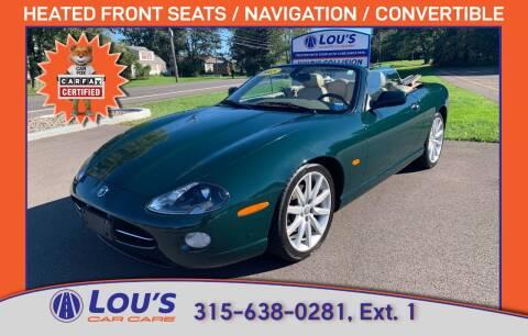 2005 Jaguar XK-Series for sale at LOU'S CAR CARE CENTER in Baldwinsville NY