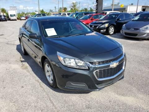 2015 Chevrolet Malibu for sale at Jamrock Auto Sales of Panama City in Panama City FL
