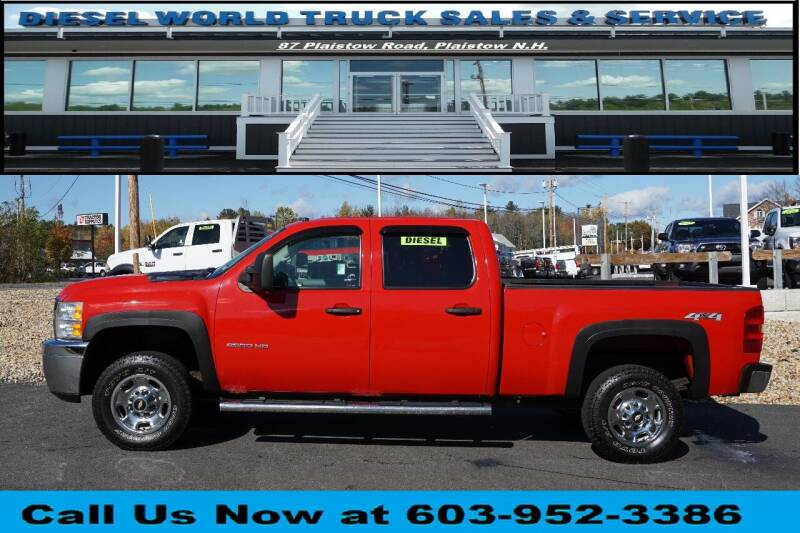 2011 Chevrolet Silverado 2500HD for sale at Diesel World Truck Sales in Plaistow NH