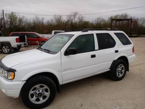 2001 Isuzu Rodeo for sale at Finish Line Auto LLC in Luling LA