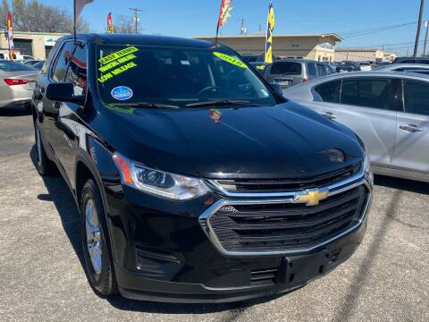 2018 Chevrolet Traverse for sale at Cow Boys Auto Sales LLC in Garland TX