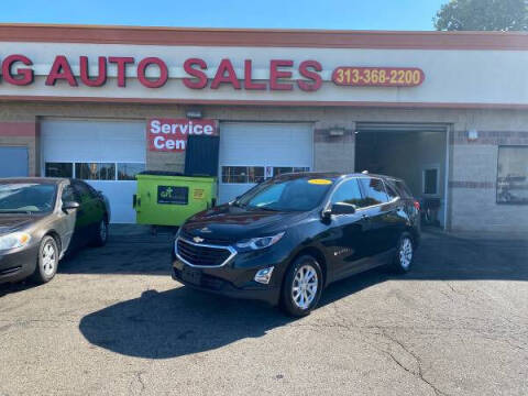 2018 Chevrolet Equinox for sale at KING AUTO SALES  II in Detroit MI