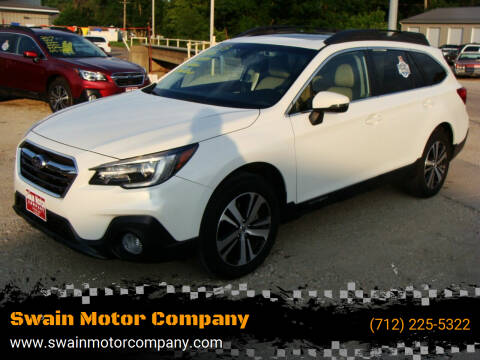 2018 Subaru Outback for sale at Swain Motor Company in Cherokee IA