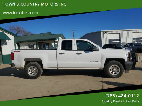 2014 Chevrolet Silverado 1500 for sale at TOWN & COUNTRY MOTORS INC in Meriden KS