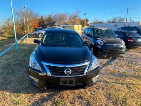 2015 Nissan Altima for sale at 733 Cars in Oklahoma City OK