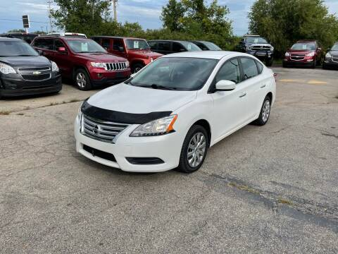 2014 Nissan Sentra for sale at Dean's Auto Sales in Flint MI