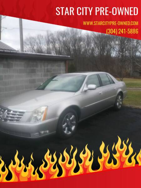 2006 Cadillac DTS for sale at STAR CITY PRE-OWNED in Morgantown WV